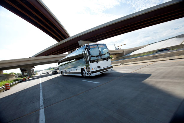 Why Travel by Bus? <span class='des-hide-singal-page'>If cross-country speed is your only concern, America's professional motorcoach operators admit you need to look elsewhere.</span>